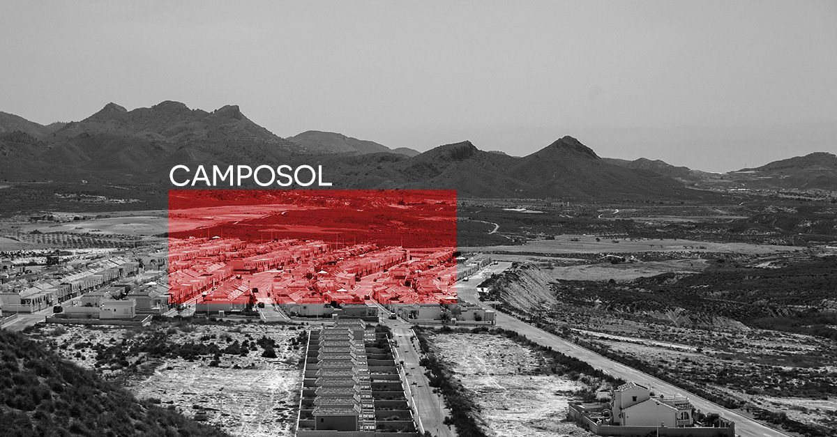 Urbanización Camposol en Mazarrón