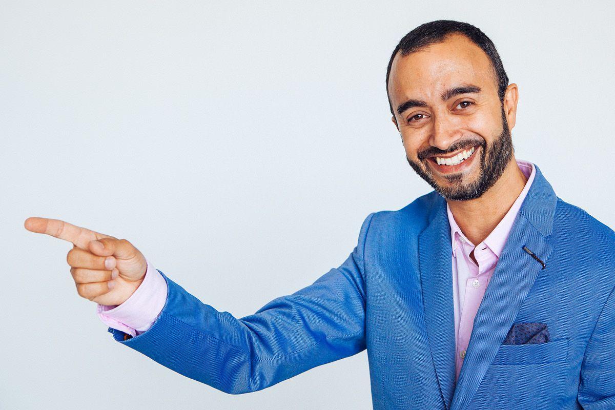 Daniel Perez sesión de retrato profesional