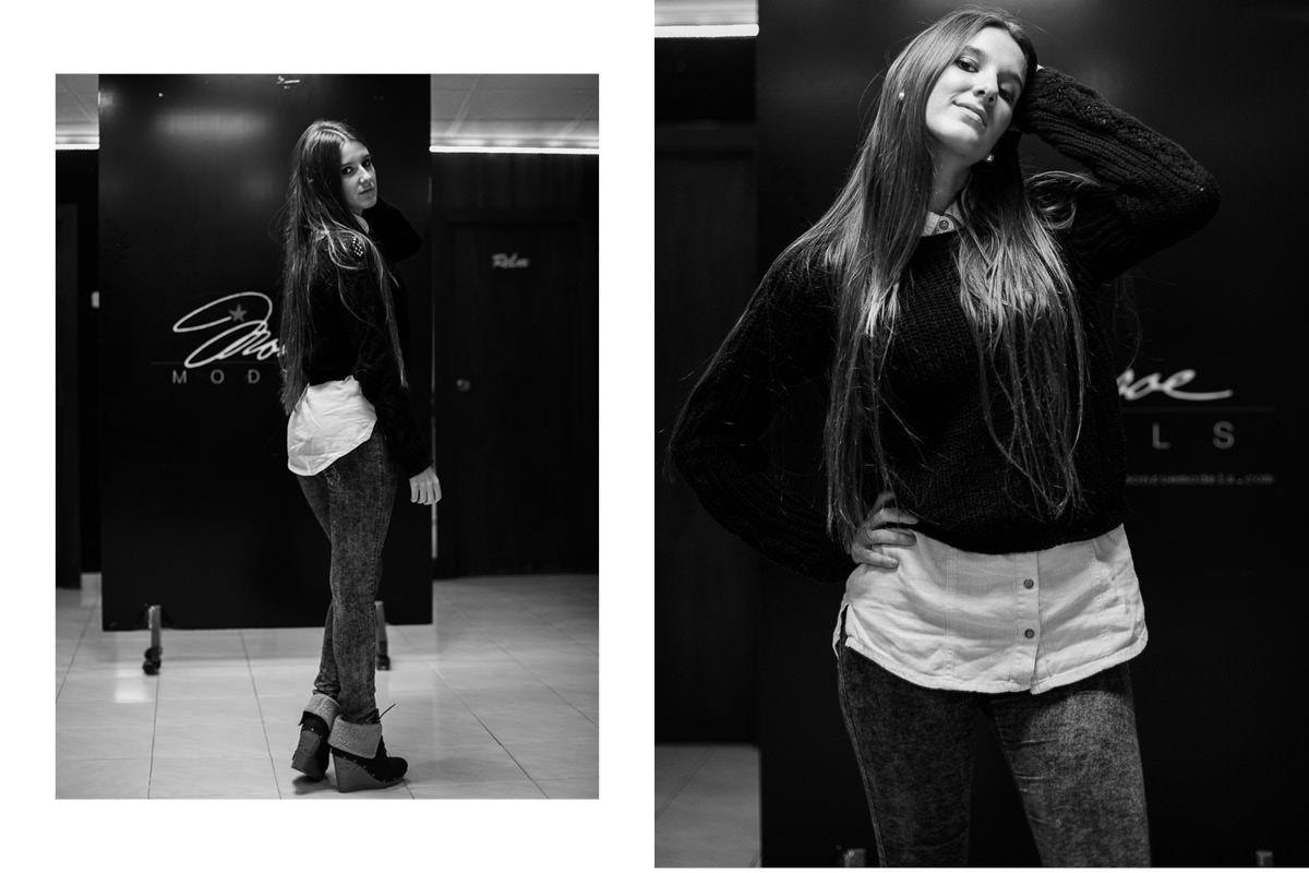 Sesión fotográfica de prube de nuevos modelos